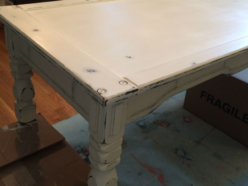 Don T Use Wax To Seal Chalk Paint Rawhyde Furnishings