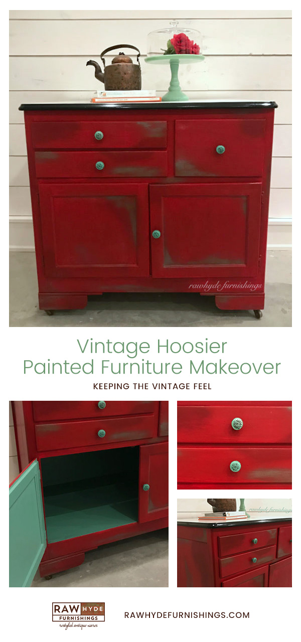 Painted Furniture Makeover - Keeping the Vintage Feel ...