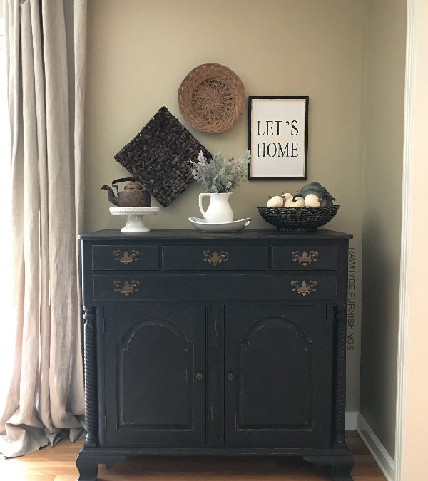 How To Paint Furniture Matte Black