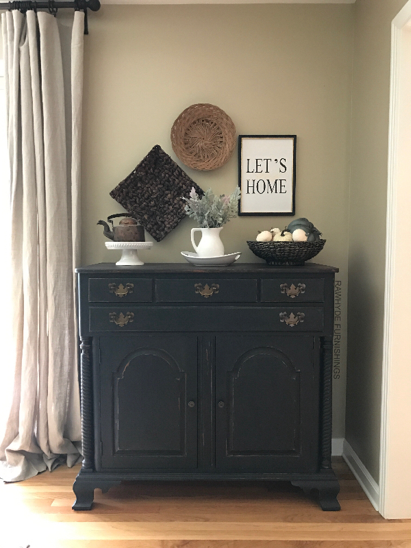 Completely new Paint Furniture Matte Black, Learn How - RAWHyde Furnishings JF49