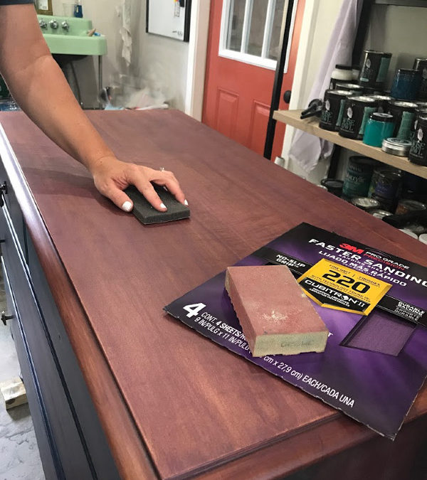 Tips For Sanding Before Painting Furniture Rawhyde Furnishings