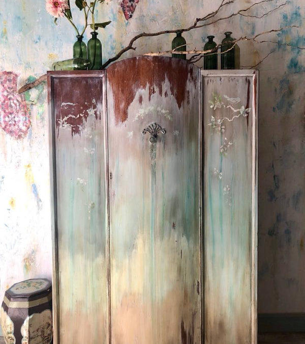 Boho Inspired Painted Furniture Round Up